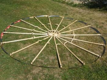 Romanian scythe circle Gyimes 2012